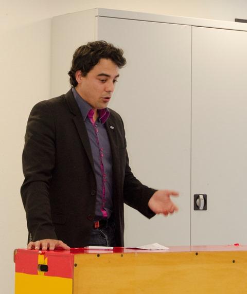 Frédéric Millat, président de la JCE
